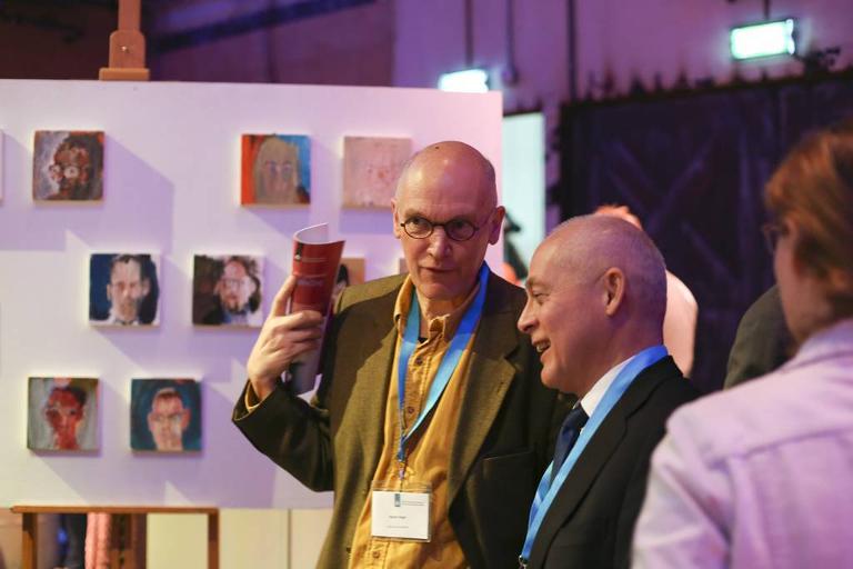 FFZ17, presentatie van het portrettenproject door de Pompestichting