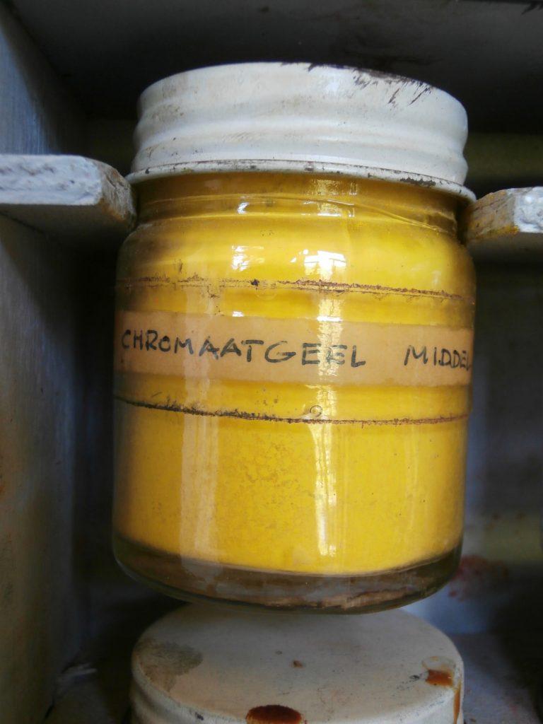 chromaatgeel middel pigment