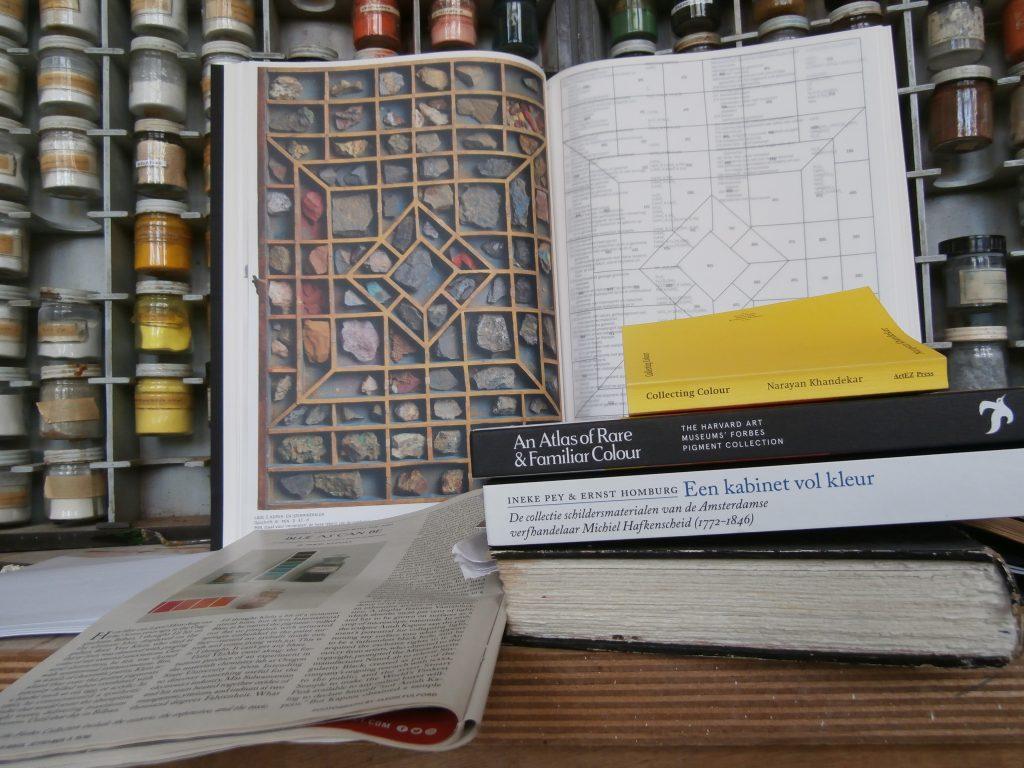 Mijn pigmentenbibliotheek